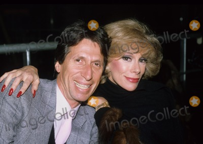 David Brenner Photo - David Brenner Joan Rivers 1982 Photo by Adam Scull-Globe Photos Inc
