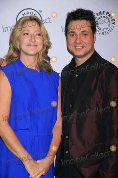 Adam Ferrara Photo - Edie Falco Adam Ferrara at Paleyfestmade in Nynurse Jackie at the Paley Center For Media 10-6-2013 Photo by John BarrettGlobe Photos