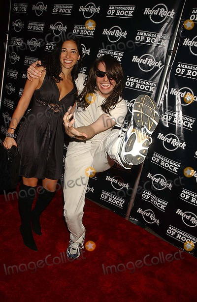 ANDREW WK Photo - Ambassadors of Rock Tour Concert to Benefit the Chris Farley Foundation and the 35th Anniversary Celebration of the Hard Rock Cafe New York City 09-18-2006 Photo Ken Babolcsay-ipol-Globe Photos Inc 2006 Andrew Wk