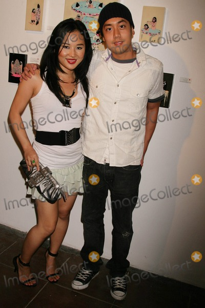 Allen Evangelista Photo - Kill Pixie Hosted by Tim Roth Merry Karnowsky Gallery Los Angeles California 05-30-2009 Amy Rider and Allen Evangelista Photo Clinton H Wallace-photomundo-Globe Photos Inc