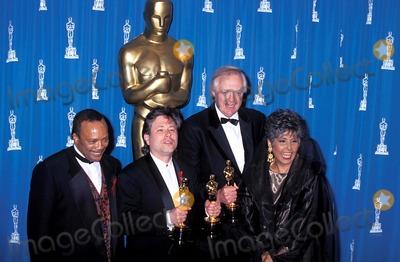 Alan Menken Photo - Sd0329 65th Annual Acadedmy Awards Quincy Jones Alan Menken Lena Horne and Tim Rice Photo Michael Ferguson-Globe Photos Inc 1993 Quincyjonesretro