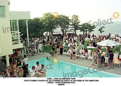 Hugh Edwards Photo - 399 - Long Islandnew York puffycombs Fourth of July Barbecue Party at His Home in the Hamptons Credit  Hugh Edwards Ipol I3368he Credit Photographer NameipolGlobe Photos Inc