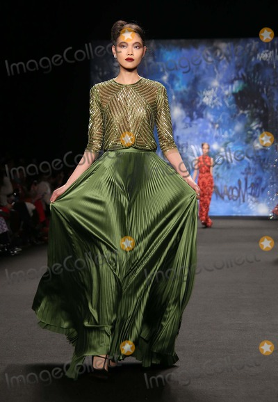 Naeem Khan Photo - Naeem Khan Fw 2015 Fashion Show Mercedes Benz Fashion Week Lincoln Center NYC February 17 2015 Photos by Sonia Moskowitz Globe Photos Inc