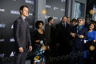 Arthur Elgort Photo - The Us Premiere of the Divergent Series Insurgent the Ziegfeld Theater NYC March 16 2015 Photos by Sonia Moskowitz Globe Photos Inc 2015 Ansel Elgort Arthur Elgort