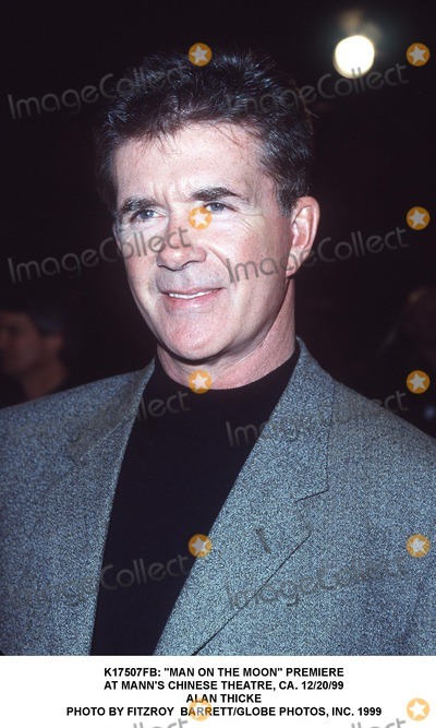 Alan Thicke Photo -  Man on the Moon Premiere at Manns Chinese Theatre CA 122099 Alan Thicke Photo by Fitzroy BarrettGlobe Photos Inc