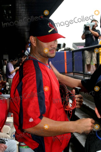 Albert Pujols Photo - the New York Mets Take Batting Practice with the New York Mets Shea Stadium New York 08-24-2006 Photo by Barry Talesnick-ipol-Globe Photos 2006 Albert Pujols