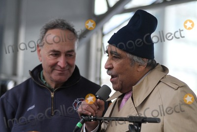 Charlie Rangel Photo - Stand For Freedom March and Rally For Voting Rights  December 10 Is United Nations Human Rights Day Rally Held at Dag Hammarskjold Plaza  United Nations Bruce Cotler 12 10 11 NY Senator Chuck Schumer and NY Congressman Charlie Rangel