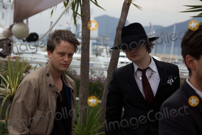 August Diehl Photo - Actors August Diehl (L) and Pete Doherty Pose at the Photocall of Confessions of a Child of the Century During the 65th Cannes Film Festival at Palais Des Festivals in Cannes France on 20 May 2012 Photo Alec Michael Photo by Alec Michael-Globe Photos Inc