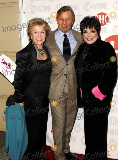 Bob Fosse Photo - LOS ANGELES CA MARCH 21 2006 (SSI) - -Patricia McCallum her husband actor Michael York and actress Liza Minnelli pose for photographers during the premiere of the restored and re-mastered 1972 Bob Fosse TV concert event LIZA WITH A Z held at the MGM Screening Room on March 21 2006 in Century City Los Angeles Michael Germana  Super Star ImagesK47278MGPHOTO BY MICHAEL GERMANA-GLOBE PHOTOS
