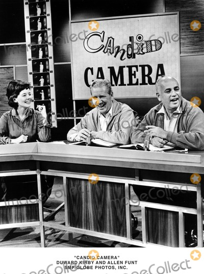 Allen Funt Photo - Candid Camera Dunward Kirby and Allen Funt SmpGlobe Photosinc