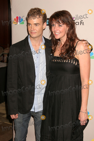 Robin Dunne Photo - NBC 2008 Press Tour  All-star Party Beverly Hilton Hotel Beverly Hills CA 072008 Robin Dunne and Amanda Tappen Photo Clinton H Wallace-photomundo-Globe Photos Inc