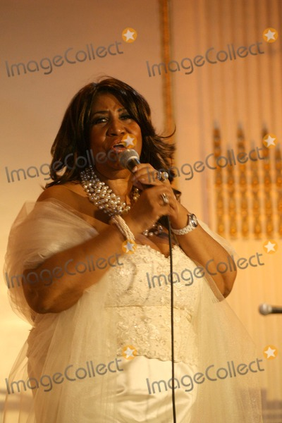 Charlie Rangel Photo - Aretha Franklin Performs at Congressman Charlie Rangels Birthday Celebration at the Plaza Hotel in New York 81011 Photo by Bruce Cotler-Globe Photos Inc