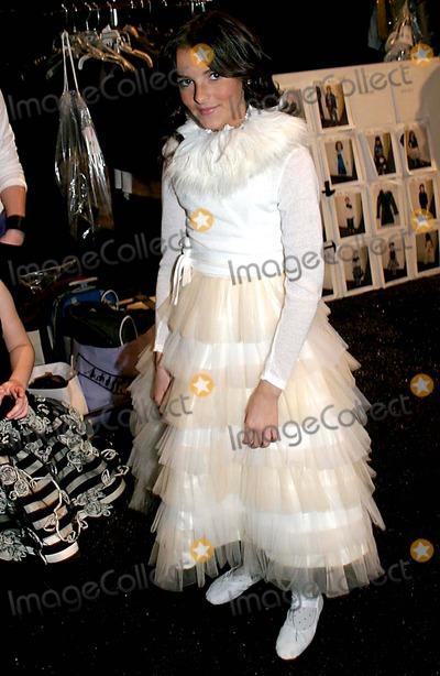 Aliana Lohan Photo - Olympus Fashion Week 2006- Chil Magazine Collection Celebes at the Atelier New York City 02-06-2006 Photo Barry Talesnick-ipol-Globe Photos Inc 2006 Aliana Lohan