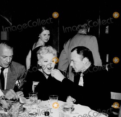 Kim Novak Photo - Frank Sinatra with Gary Cooper and Kim Novak Photo by Nate Cutler-Globe Photos Inc