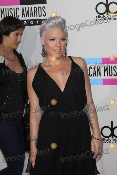 Alecia Moore Photo - Musician Pink the 2010 American Music Awards Red Carpet Arrivals Held at Nokia Theatre in Los Angeles California on November 21 2010 Photo by Alec Michael-Globe Photos Inc K66963am Pink Aka Alecia Moore
