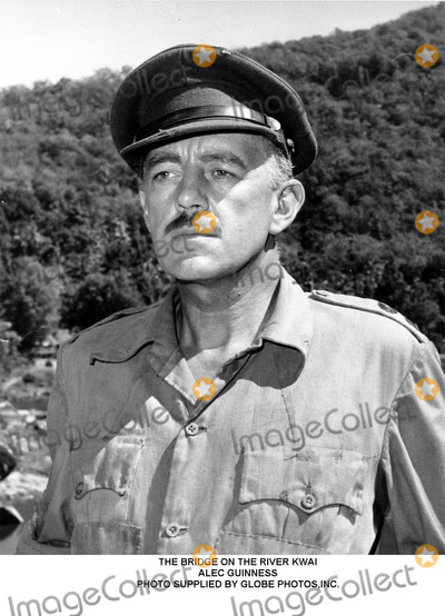 Alec Guinness Photo - The Bridge on the River Kwai Alec Guinness Photo Supplied by Globe Photosinc