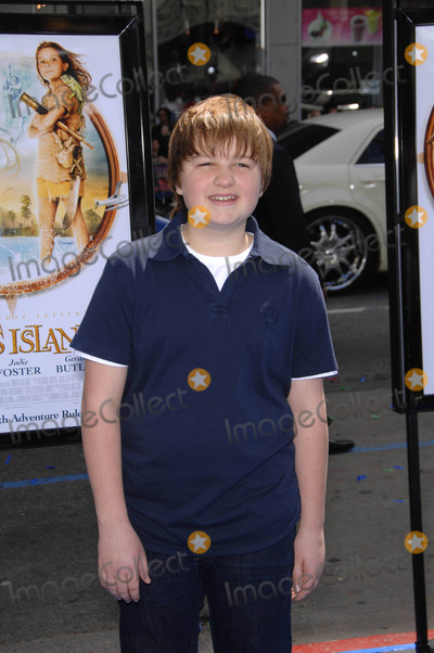Angus Jones Photo - the World Premiere of nims Island Graumans Chinese Theatre Hollywood CA 03-30-2008 Photo by Michael Germana-Globe Photos 2008 Angus Jones