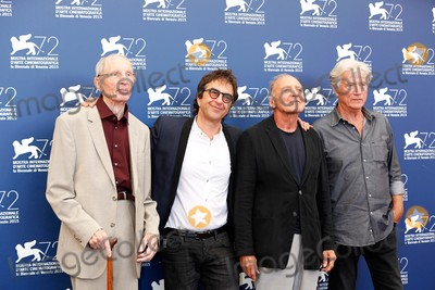 Atom Egoyan Photo - Heinz Lieven Atom Egoyan Bruno Ganz Jurgen Prochnow ( Juergen Prochnow  Jrgen Prochnow ) Remember Photo Call 72nd Venice Film Festival Venice Italy September 10 2015 Roger Harvey