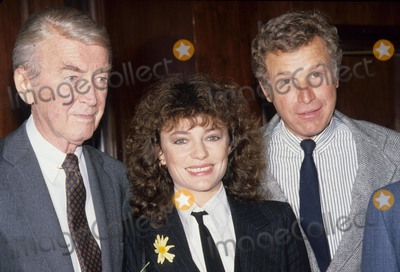 Jacqueline Bisset Photo - Jimmy Stewart with Jacqueline Bisset Wayne Rogers G9062 Photo by Bob V Noble-Globe Photos Inc
