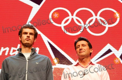 Andrew Murray Photo - Andrew Murray and Sebastian Coe Attend the London 2012 Logo and Brand Identity Press Launch at the Roundhouse Chalk Farm Road  London 06-04-2007 Photo by Mike Marsland-spotlight Press-Globe Photos Inc