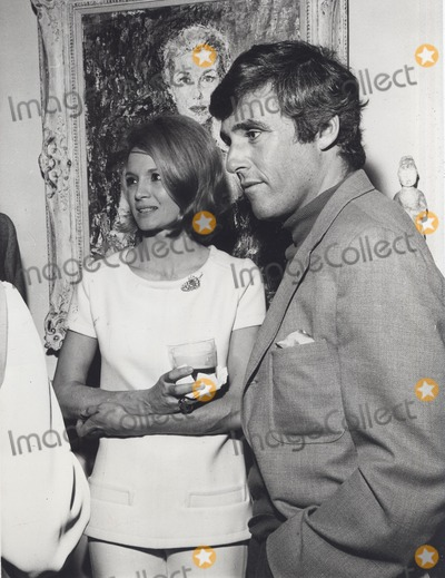 Angie Dickinson Photo - Angie Dickinson with Husband Burt Bacharach at the Dinner Party Honoring Authoress Jacqueline Susann at the Home of Henry Berger and Anita Louise 1969 Supplied by Globe Photos Inc