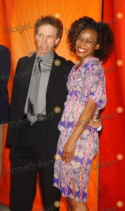 Aunjanue Ellis Photo - NBC Upfront Event Radio City Music Hall New York City 5-16-2005 Photo by Ken Babolcsay-ipol-Globe Photos Inc 2005 Jerry Bruckheimer and Aunjanue Ellis