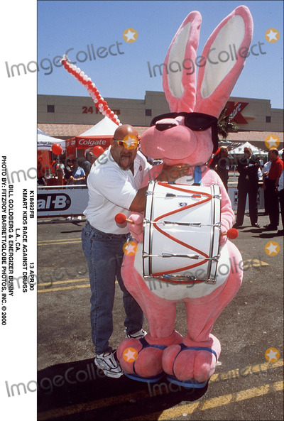 Bill Goldberg Photo - 13 Apr 00 Kmart Kids Race Against Drugs LA CA Bill Goldberg  Energizer Bunny Photo by Fitzroy BarrettGlobe Photos Inc