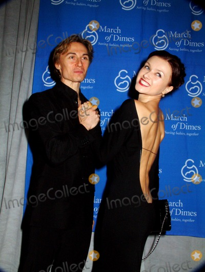 Irina Dvorovenko Photo - Fraternity of Chefs Come Together Manhattan Style to Benefit the March of Dimes the Pierre Hotel New York City 10292003 Photo Mitchell Levy  Rangefinders  Globe Photos Inc 2003 Maxim Beloserkovsky and Irina Dvorovenko