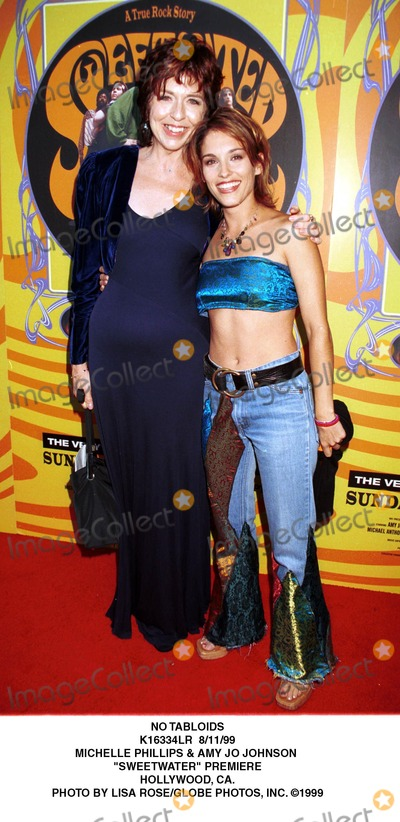 Amy Jo Johnson Photo - No Tabloids K16334lr 81199 Michelle Phillips  Amy Jo Johnson Sweetwater Premiere Hollywood CA Photo by Lisa RoseGlobe Photos Inc