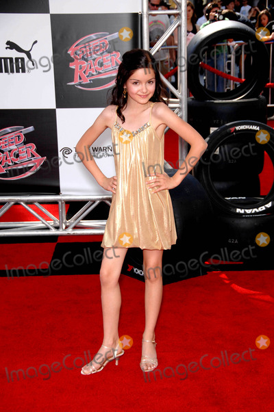 Ariel Winter Photo - Ariel Winter During the Premiere of the New Movie From Warner Bros Pictures Speed Racer Held at the Nokia Theatre on April 26 2008 in Los Angeles Photo Michael Germana - Globe Photos Inc
