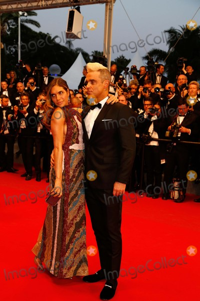 Ayda Field Photo - (l-r) Robbie Williams and Ayda Field Premiere the Sea of Trees Cannes Film Festival 2015 Cannes France May 16 2015 Roger Harvey