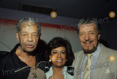 Herb Jeffries Photo - Billy Eckstine with Herb Jeffries and Barbara Mcnair Photo by Bob V Noble-Globe Photos Inc