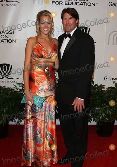 Andre Agassi Photo - Katie Darren Anderton Footballer and Fiancee Andre Agassi Foundation For Educations 15th Grand Slam For Children Benefit Concert - Red Carpet the Wynn Las Vegas 10-09-2010 Photo by Graham Whitby Boot-alstar-Globe Phtos Inc 2010
