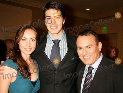 Brian Quintana Photo - - Exclusive a Tribute to Christopher  Dana Reeve - Cocktail Reception Beverly Hilton Hotel Beverly Hills CA 09-27-2006 Courtney Ford Brandon Routh and Brian Quintana - Producer Photo Clinton H Wallace-photomundo-Globe Photos Inc