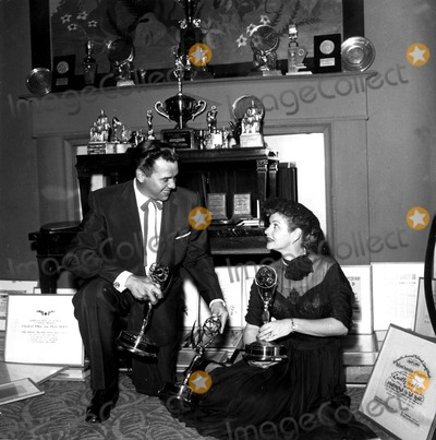 Desi Arnaz Photo - Lucille Ball and Desi Arnaz Supplied by Globe Photos Inc