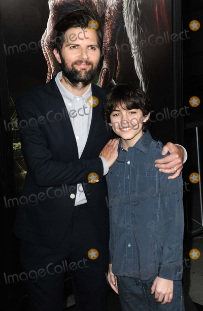 Adam Scott Photo - Adam Scott Emjay Anthony attending the Legendary Pictures and Universal Pictures Special Screening of Krampus Held at the Arclight Theater in Hollywood California on November 30 2015 Photo by David Longendyke-Globe Photos Inc