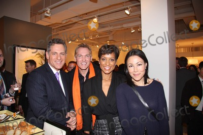 Bob Williams Photo - Sam Champion Abc News Anchor Bill Ritter  Sade Baderinwa and Ann Curry National Lesbian  Gay Journalists Association 16th Annual New York Benefit Mitchell Gold  Bob Williams Soho Store New York NY 03-24-2011 photo by William Regan-globe Photos Inc