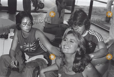 Andy Gibb Photo - Olivia Hussey with Andy Gibb and Susan George Photo by Pt-Globe Photos Inc