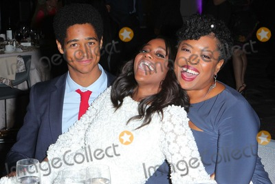 Alfred Enoch Photo - Alfred Enoch  Aja Naomi King Erika Green Swafford Attend the 46th Naacp Image Pre-awards Ceremony Held at the Pasadena Convention Center on February 5th 2015 in Los Angelescalifornia UsaphototleopoldGlobephotos