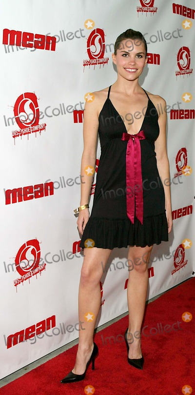 Ashley Bashioum Photo - Mean Magazine Launch Party at Nacional in Hollywood CA 03-29-2005 Photo Byjaimie Rodriguez-Globe Photos Inc 2005 Ashley Bashioum