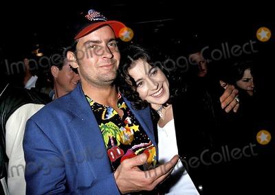 Sean Young Photo - Photo Lisa Rose Globe Photos Inc 1994 Charlie Sheen and Sean Young Charliesheenretro
