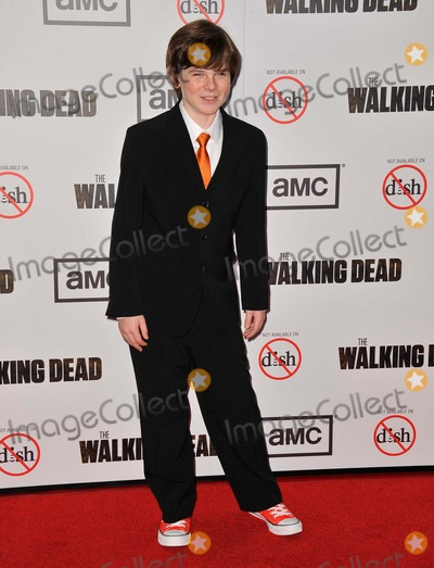 Chandler Riggs Photo - Chandler Riggs attending the Premiere Screening For the Walking Dead Season 3 Held at the Universal City Walk in Universal City California on October 4 2012 Photo by D Long- Globe Photos Inc