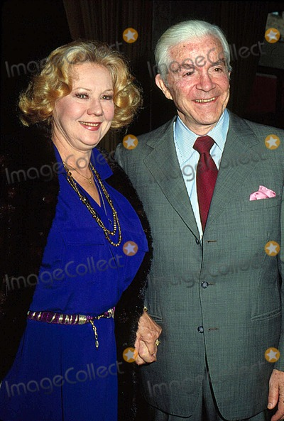 Virginia Mayo Photo - Virginia Mayo with Dana Andrews 12-1983 13056 Photo by Phil Roach-ipol-Globe Photos Inc