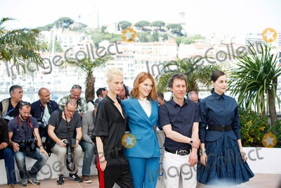 Amira Casar Photo - Lea Seydoux Amira Casar Bertrand Bonello and Aymeline Valade Saint-laurent Photo Call Cannes Film Festival 2014 Cannes France May 17 2014 Roger Harvey