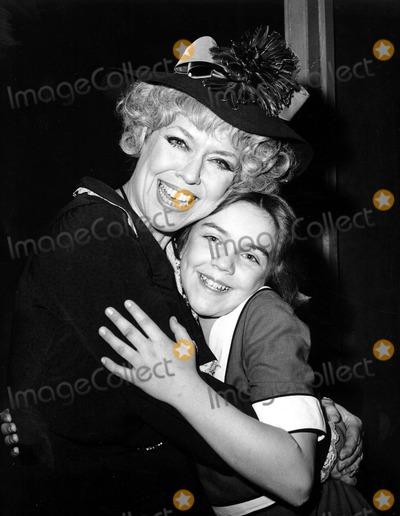 Dorothy Loudon Photo - Andrea Mcardle_dorothy Loudon Photo by Irv Steinberg  Globe Photosinc