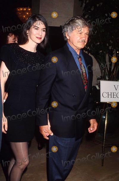Kim Weeks Photo - 1992 Charles Bronson_kim Weeks Photo by Michael FergusonGlobe Photosinc Charlesbronsonretro