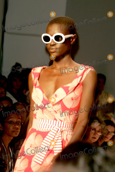 Alex Wek Photo - Olympus Fashion Week 2006  Diane Von Furstenberg Spring Collection  ( Runway ) at in New York City 09-11-2005 Photo by Rick Mackler-rangefinders-Globe Photos 2005 Diane Von Furstenberg Fashion Runway Model Alex Wek