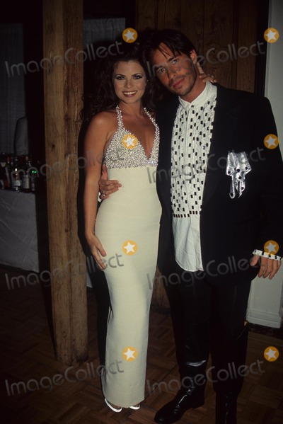 Ricky Paull Goldin Photo - Ricky Paull Goldin with Yasmine Bleeth Faith Winter Ball Benefit Aids and Breast Cancer 1995 Photo by Lisa Rose-Globe Photos Inc