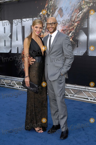 Stephen Bishop Photo - Kelli Reichel and Stephen Bishop During the Premiere of the New Movie From Universal Pictures Battleship Held at the Nokia Theatre on May 10 2012 in Los Angeles Photo Michael Germana  Superstar Images - Globe Photos