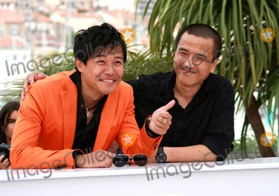 Chen Sicheng Photo - Chen Sicheng  Lou Ye Actor  Director Spring Fever Photo Call at the 2009 Cannes Film Festival at Palais Des Festival Cannes France 05-14-2009 Photo by David Gadd Allstar--Globe Photos Inc 2009